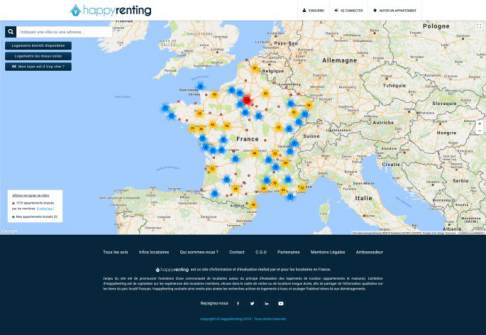 screenshot happyrenting